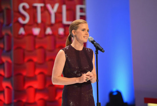 Amy Adams presented an award.