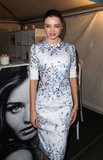 Miranda Kerr was at a Kora Organics pop-up store in Sydney as part of Fashion's Night Out.
