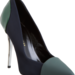 Proenza Schouler's take on the pump is a gorgeous rendition on colorblocking in rich, autumnal emerald green.