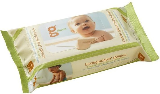 Gdiapers Biodegradable Gwipes (70 count for $6)