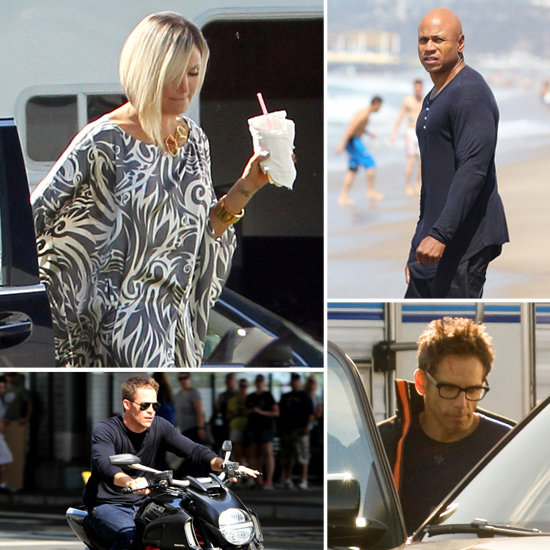 Cameron Diaz, Ben Stiller, Chris Pine, and More Stars on Set