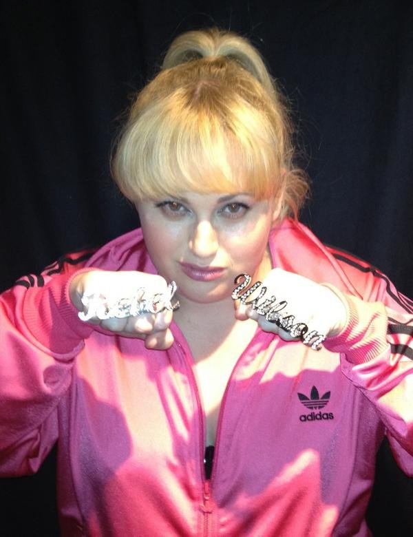 Actress Rebel Wilson showed off some major bling. Source: Instagram user RebelWilson