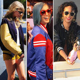 Varsity or letterman jackets were once only reserved for students, but celebrities like Taylor Swift, Katy Perry, and Rihanna have adopted the sporty outerwear for their everyday lives. Shop CelebStyle's curated picks now.