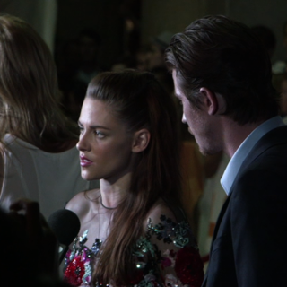 Kristen Stewart at TIFF Red Carpet (Video)