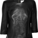 Iris & Ink Day-to-Night Leather Top ($230)