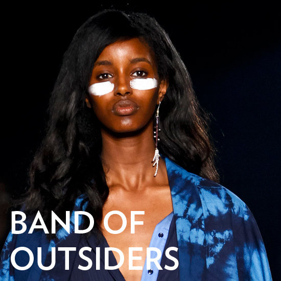 At Band of Outsiders, Models Were Ready to Fight