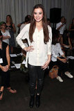 Hailee Steinfeld attended the Rag & Bone show.
