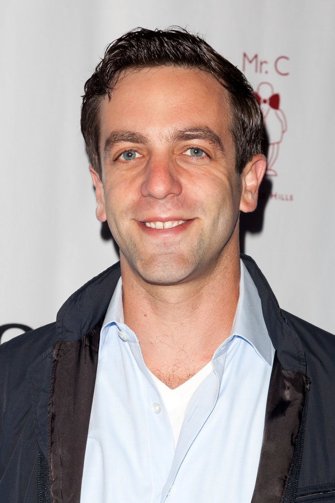 B.J. Novak flashed a smile.