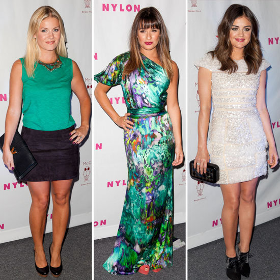 Lea Michele Celebrates Her Nylon TV Issue Cover With Famous Friends