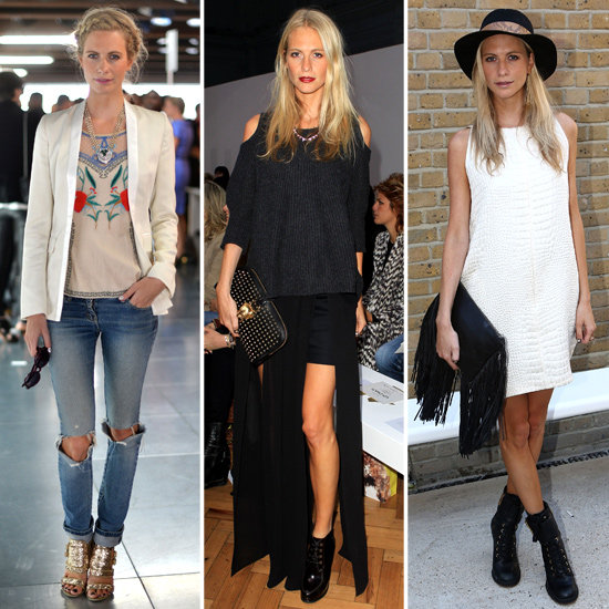 Poppy Delevingne's LFW Looks Deserve to Be on a Pedestal