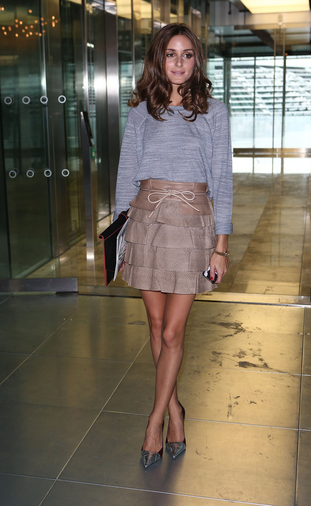 Olivia Palermo was chic at Matthew Williamson.