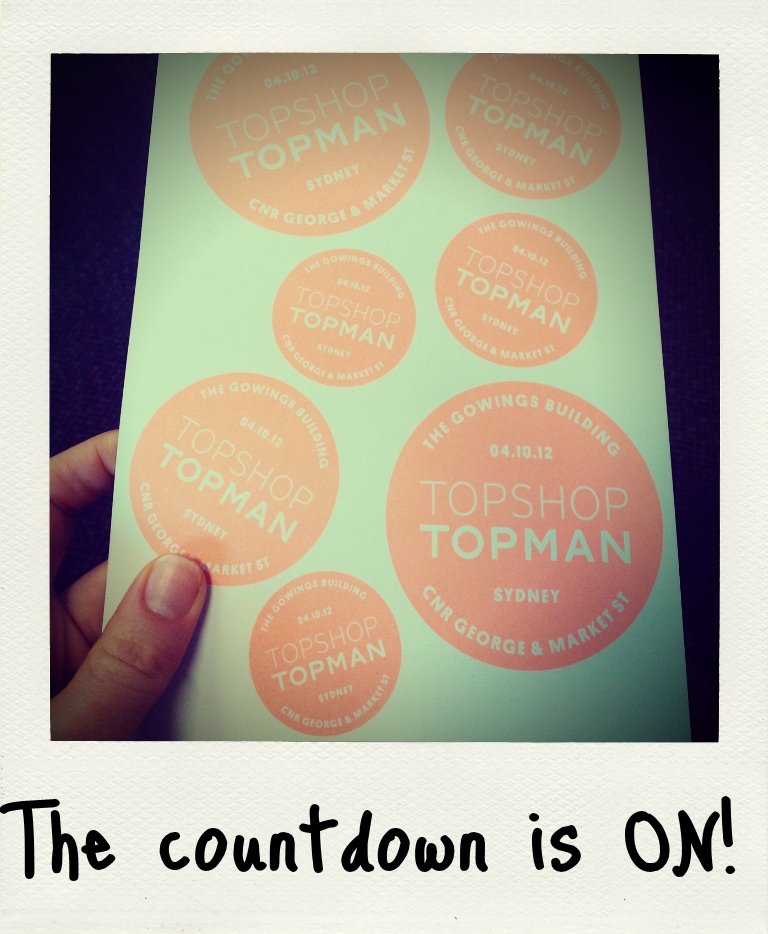 RSVPing heck yes to this! I will be covering every angle of Topshop Sydney's grand opening, so I promptly popped a VIP reminder for October 4th. My Nokia Lumia 900 phone calendar literally holds my life.