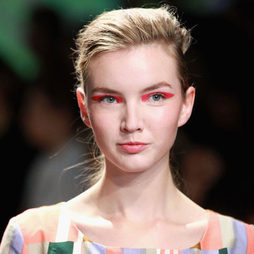Photos of the Hair and Makeup Look at Marimekko Spring Summer 2013 New York Fashion Week