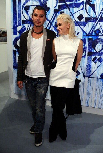 Gavin Rossdale and Gwen Stefani attend a MOCA event in April 2011 in LA.