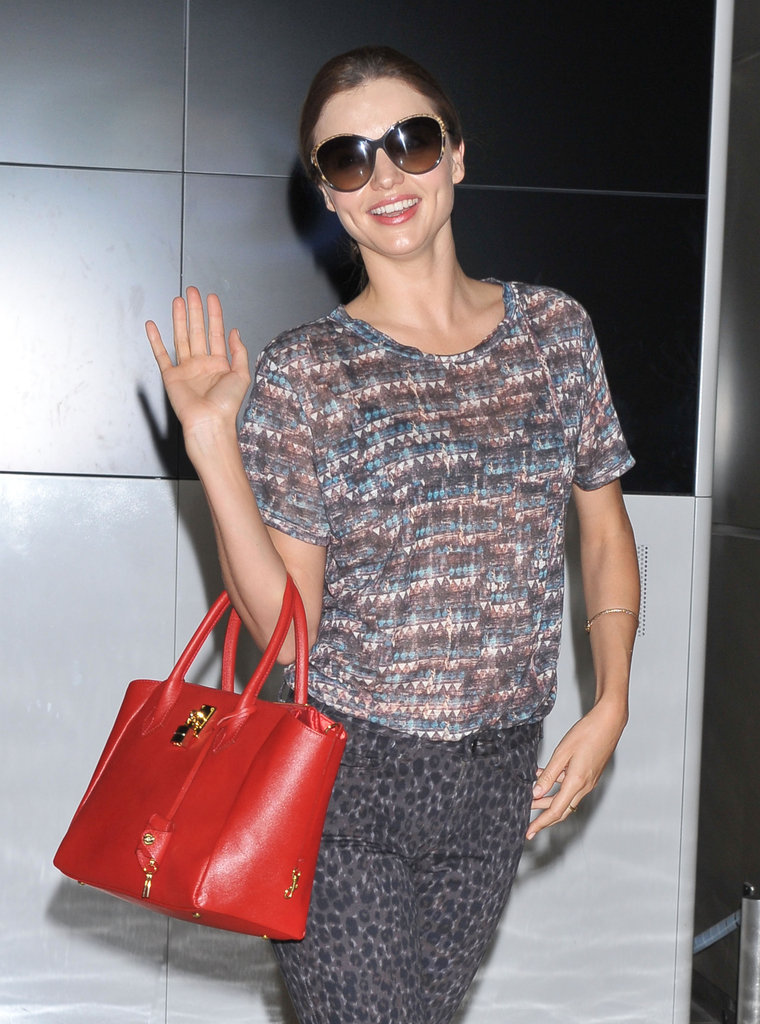 Miranda Kerr flew to Toyko.