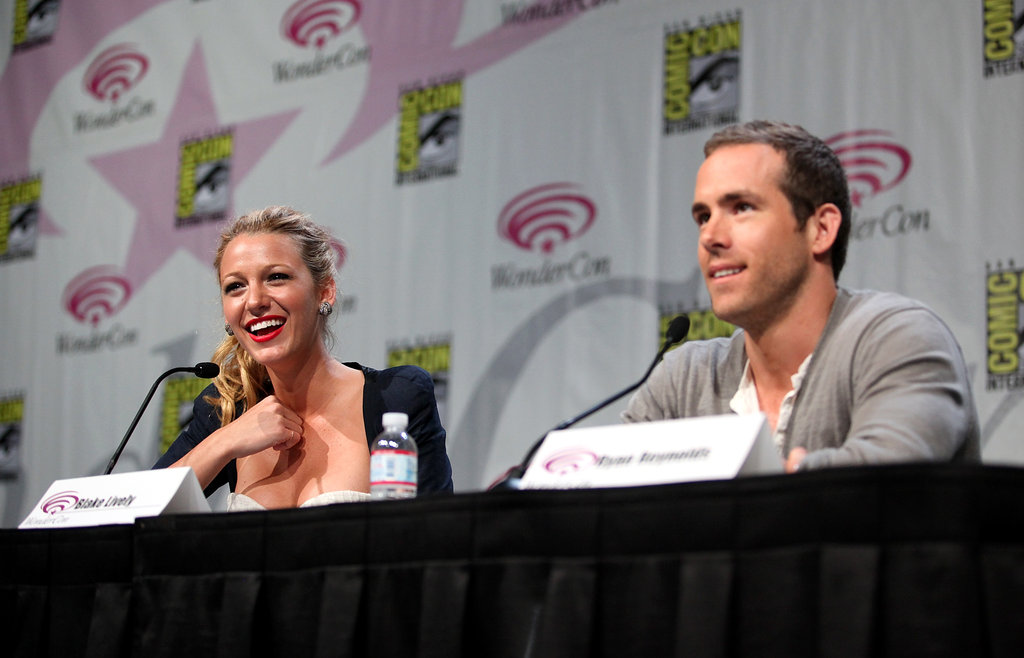 Blake Lively and Ryan Reynolds were together at San Francisco's WonderCon in April 2011.