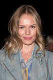 Kate Bosworth smiled backstage.