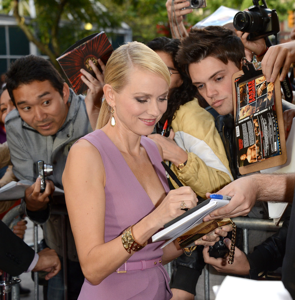 Naomi Watts Gets Glam North of the Border