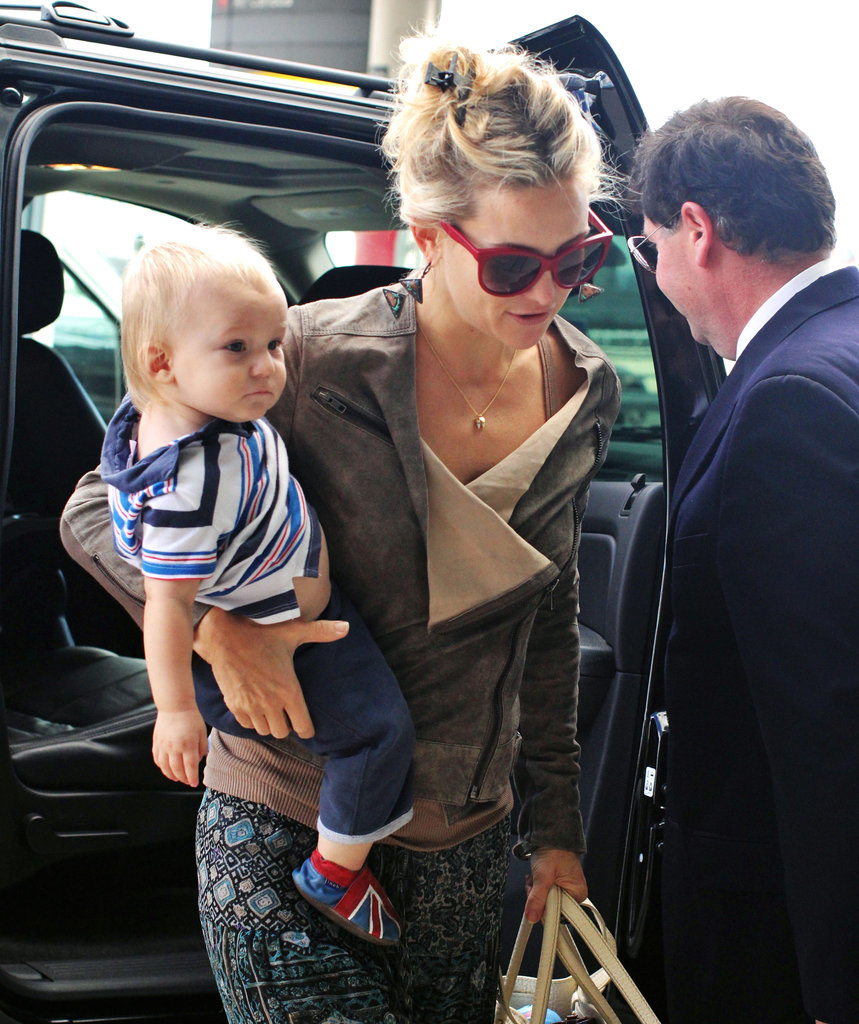 Kate Hudson carried Bingham in Toronto.