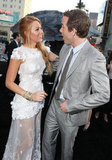 Ryan Reynolds and Blake Lively shared a laugh on the red carpet for Green Lantern in June 2011.
