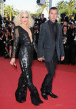 Gwen Stefani and Gavin Rossdale attended The Tree of Life's premiere in Cannes in May 2011.