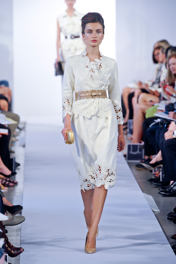 Oscar de la renta spring 2013 rtw the simply luxurious for Oscar de la renta childhood