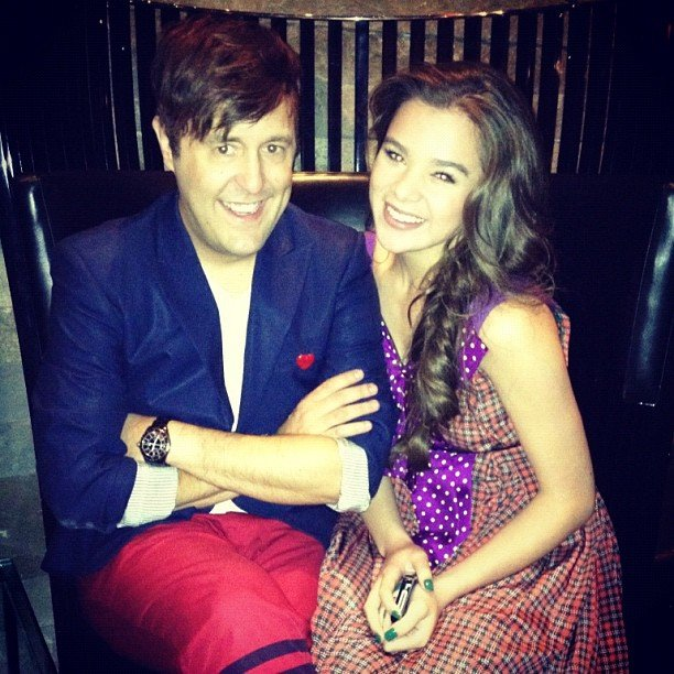 Hailee Steinfeld hung out with Andrew Bevan. Source: Instagram user haileesteinfeld