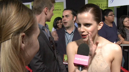 "Video: Emma Watson — Getting a Standing Ovation For Perks Was ""an Out-of-Body Experience"""