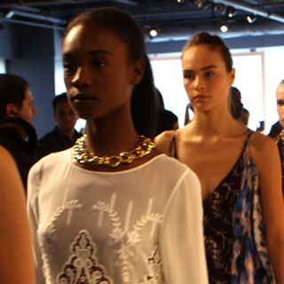 Watch Rachel Roy's Colourful Spring 2013 New York Fashion Week Presentation in Motion!