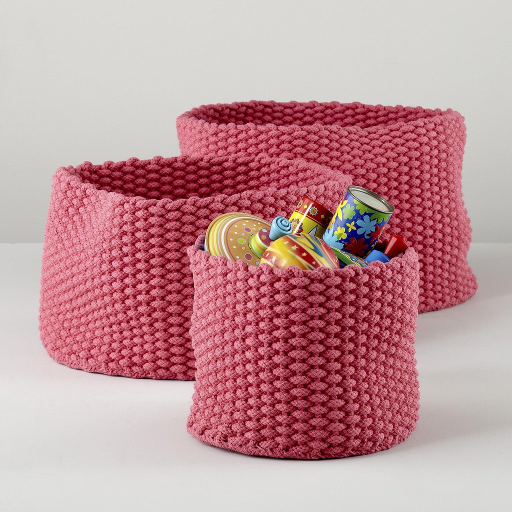Land of Nod Kneatly Knit Storage ($25-$49)