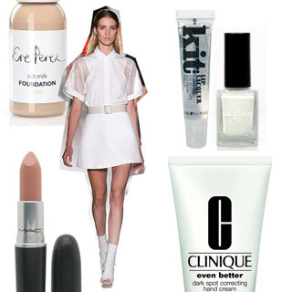 Shop the Minimal Makeup and Nail Polish Trend From Spring Summer 2013 New York Fashion Week