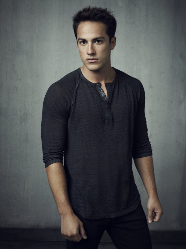 Michael Trevino as Tyler on season four of The Vampire Diaries.