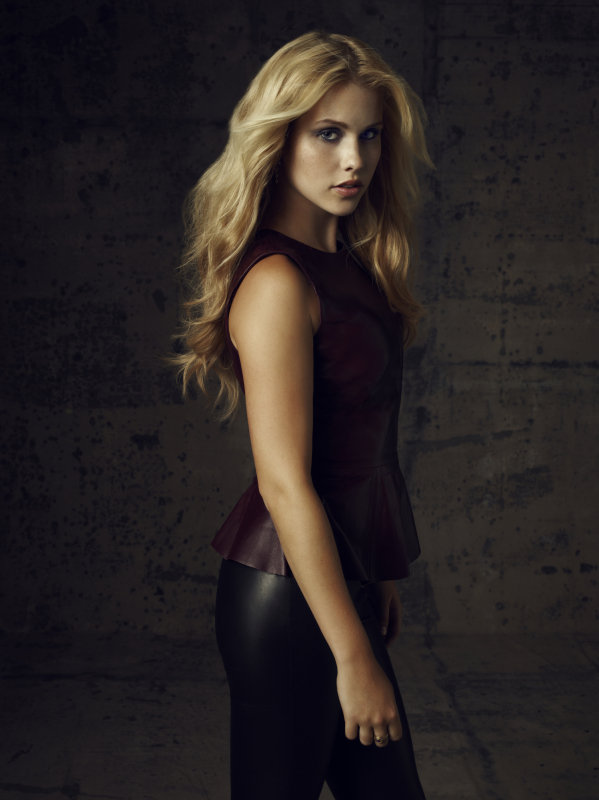 Claire Holt as Rebekah on season four of The Vampire Diaries.