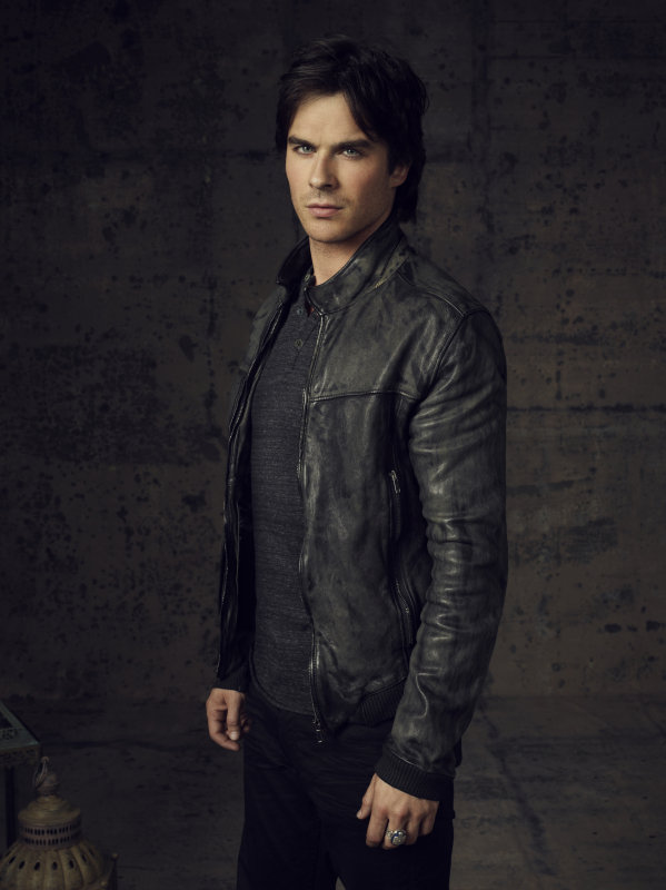 Ian Somerhalder as Damon on season four of The Vampire Diaries.