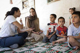 Angelina Jolie Makes an Appearance in Lebanon to Meet Refugees