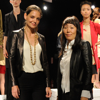 Video: Katie Holmes Takes Holmes & Yang To New York Fashion Week