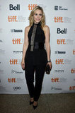 Rachel McAdams posed in a pantsuit.