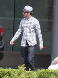 Justin Timberlake sported a pair of shades  in Century City.