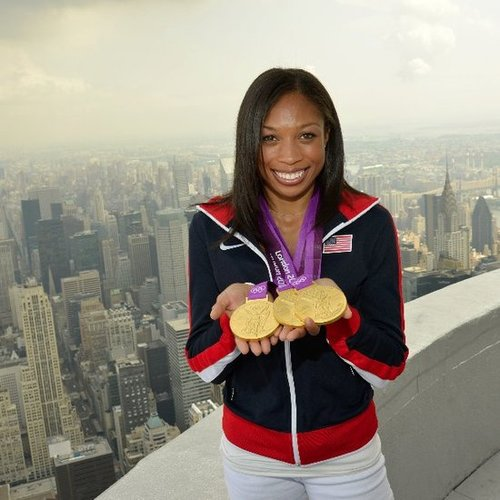 Allyson Felix's Diet and Exercise Tips
