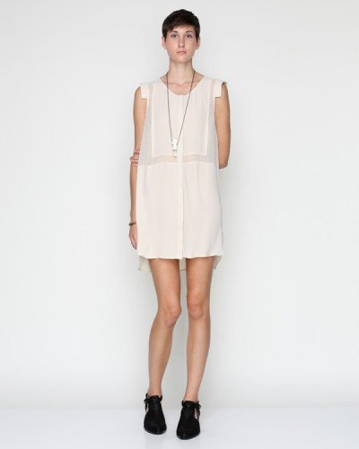 Astoria Shirt Dress in Cream