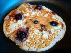Cinnamon &amp; Blueberry Pancakes