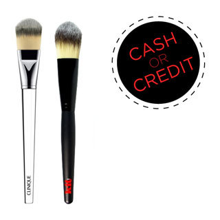 Cash or Credit: Best Foundation Brushes on Every Budget From Clinique, Kit Cosmetics and More