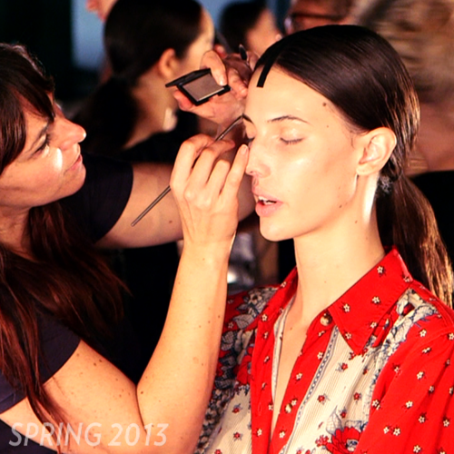 Video Recap of the Spring 2012 and 2013 Beauty Looks From New York Fashion Week