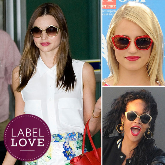 Hollywood's Latest Sunglasses Lust Is Miu Miu — See Who's Obsessed!