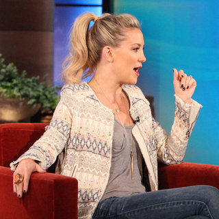 Kate Hudson Talking About Birth and Wedding (Video)