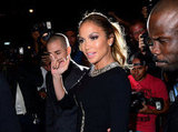 Jennifer Lopez Hits the Town — and a Fundraiser — With Casper
