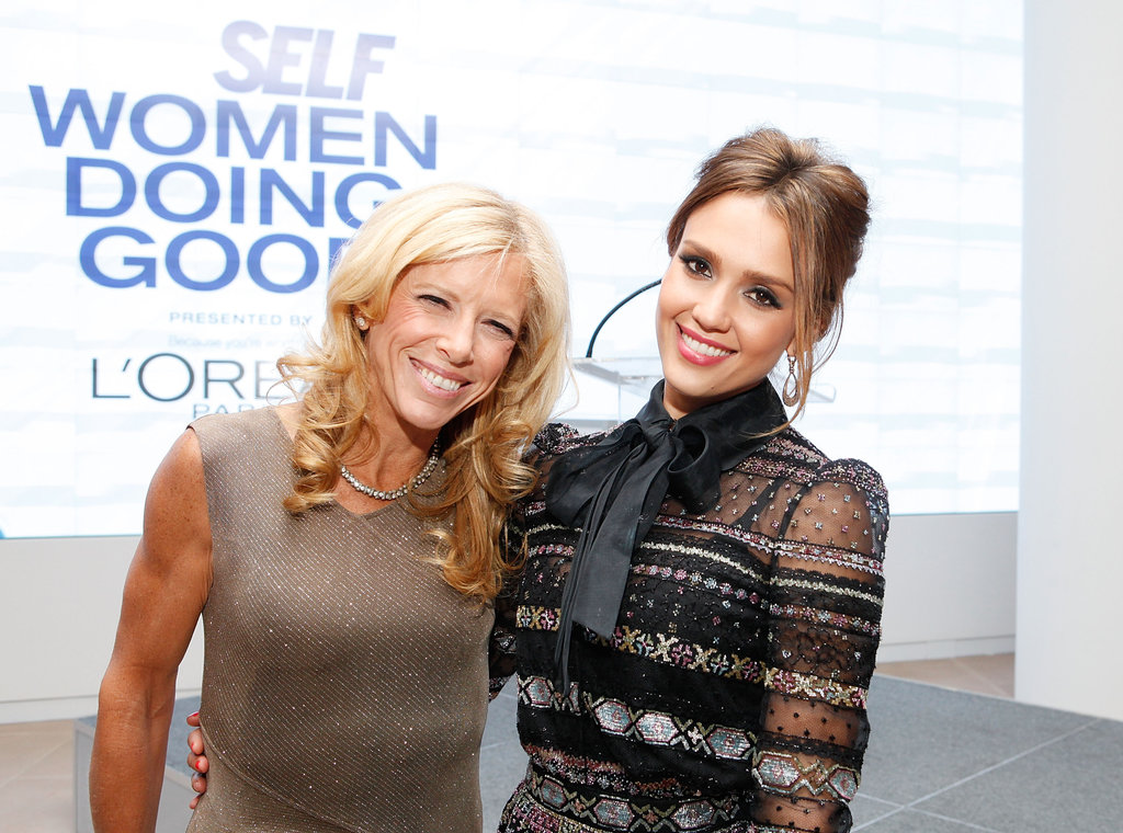Jenna Dewan and Jessica Alba Talk Family and Philanthropy With Self