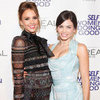 Jessica Alba And Jenna Dewan At Self Awards