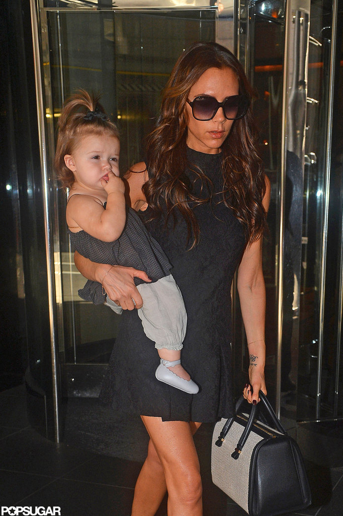 Victoria Beckham and Harper Beckham wrapped up NYFW.