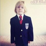 Tori Spelling documented Liam's first day of kindergarten. Source: Instagram user torianddean